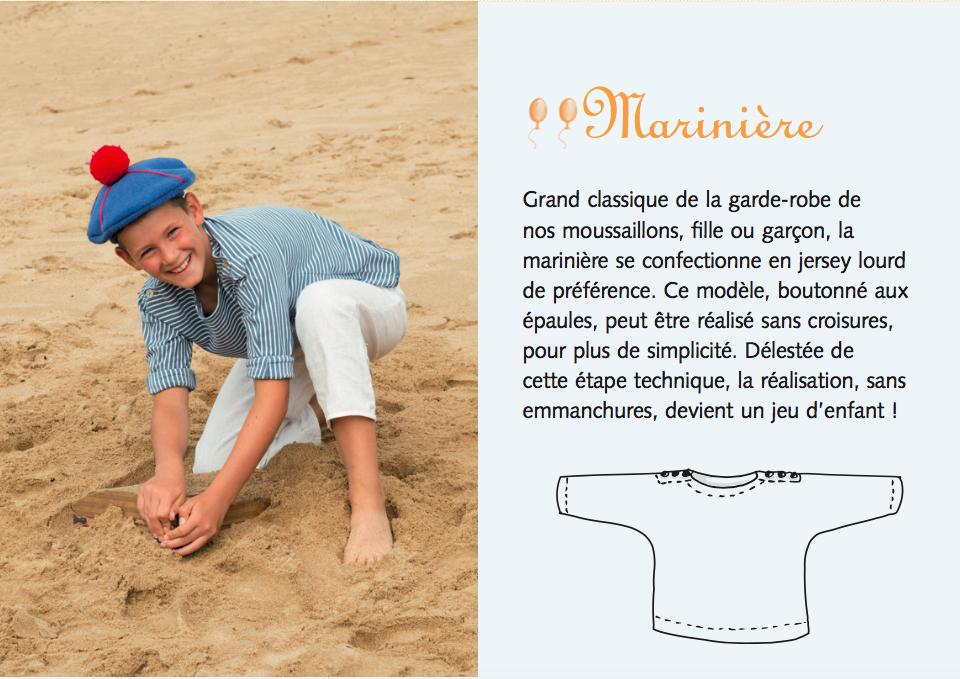 photo: Solène Perrot - Marinière, pantalon à pont, béret