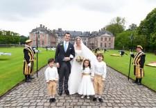 Mariage Princier: Le Comte Guillaume de Dampierre et la Princesse Alix de Ligne