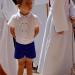 Cortège Marion: garçon d'honneur en culotte courte
