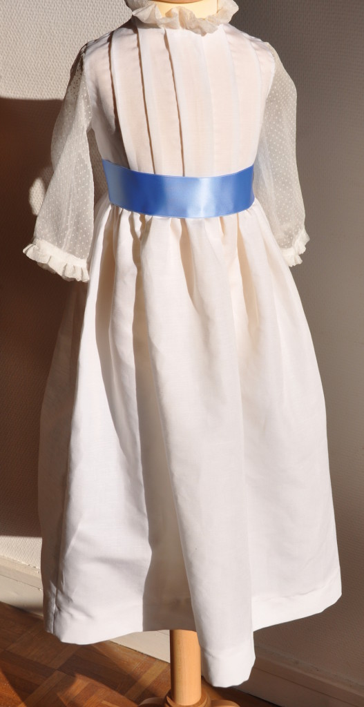 Patron robe mariee enfant