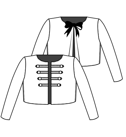 veste courte mixte