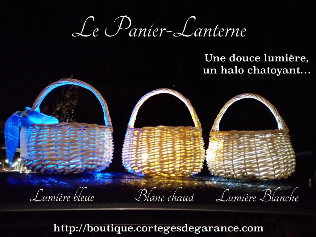 Le panier-lanterne: entourez-vous d'une douce clarté