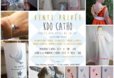 Vente privée Kdo Catho à Brest les 5,6,7 avril 2017