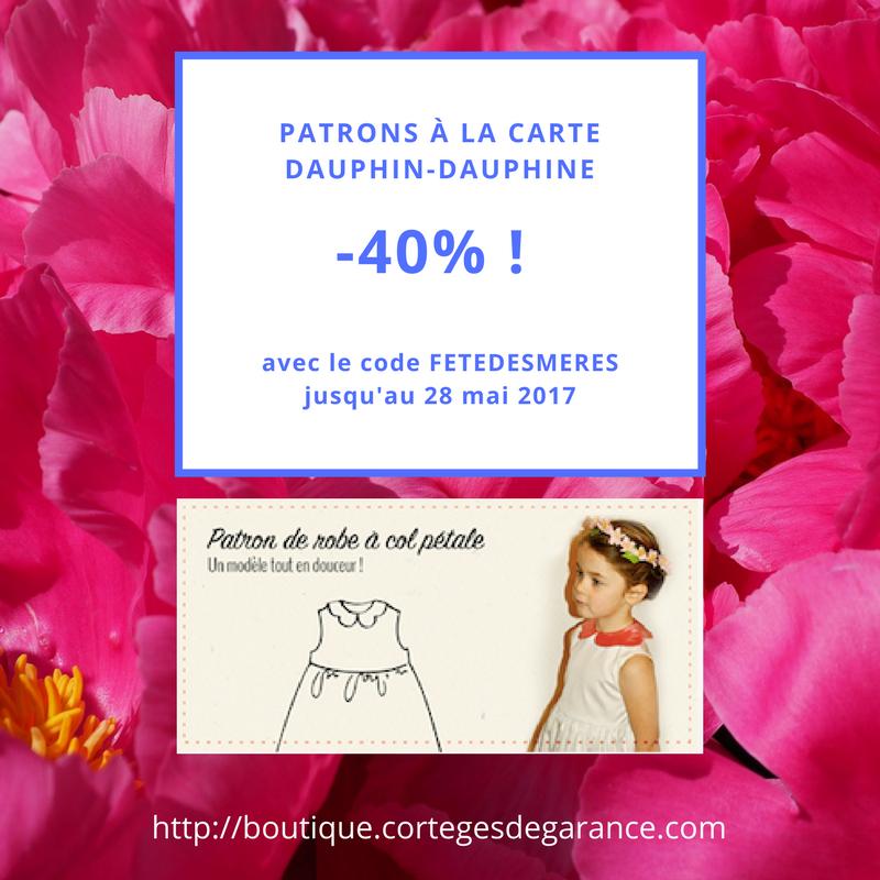 -40% à l'occasion de la fête des mères !