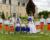 Cortège Anne-Constance: orange et bleu