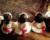 Cortège Léonore: Robes blanches dos nu et ceintures rouges
