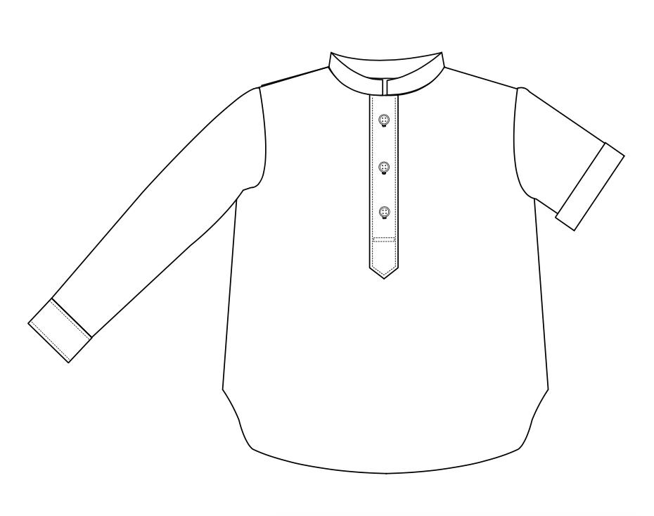 patron de chemise garçon