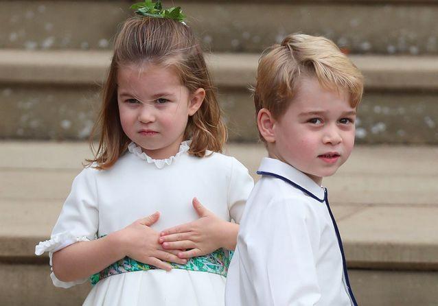 Prince George et Princesse Charlotte