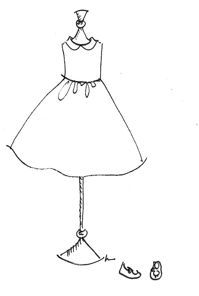 Robe cortège
