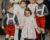 Cortège Joséphine: Toile de Jouÿ rose, rétro et tendance